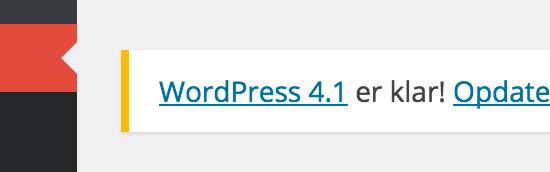 WordPress 4.1 – skal jeg opdatere?