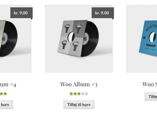 WooCommerce produktrækkefølge