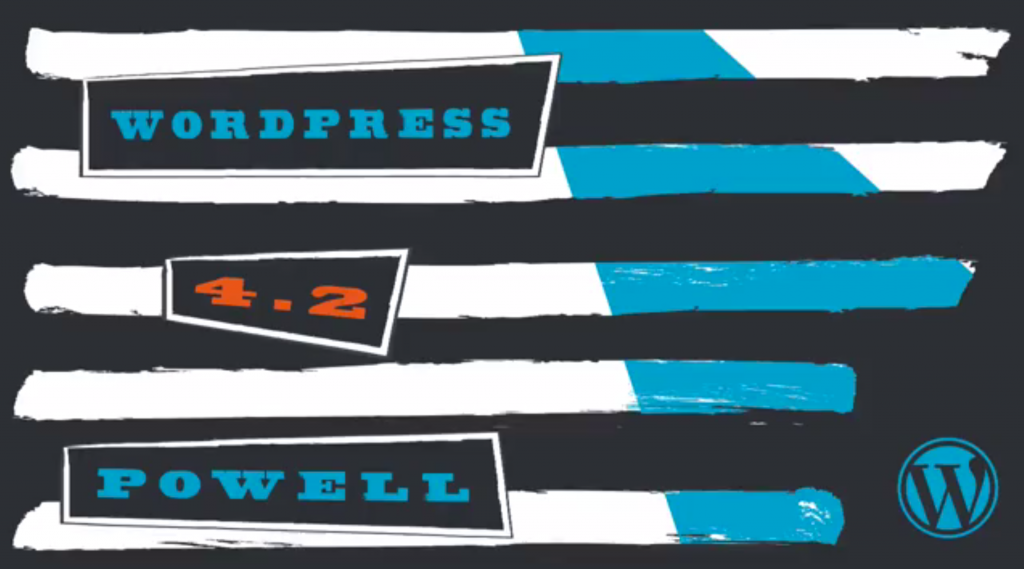 WordPress 4.1.2 og 4.2